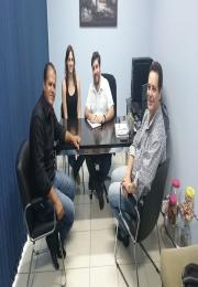 Reunião com Diretor Transito - Prefeitura Municipal de Monte Mor e Henrique Carmine Presidente ACEMM .